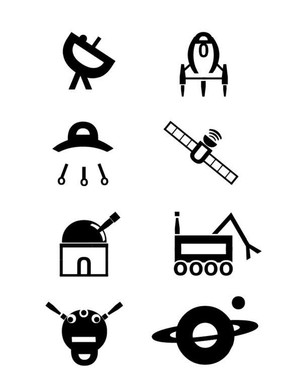 Helvetica Icons
